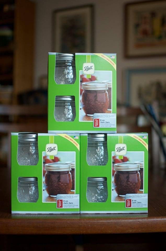 Round Jam Jars Tower Fillmore - Food in Jars