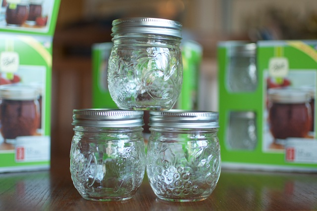 Three Round Jam Jars Fillmore - Food in Jars