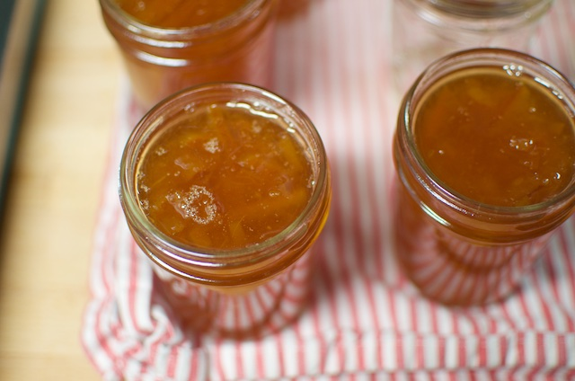 small batch marmalade in jars - Food in Jars