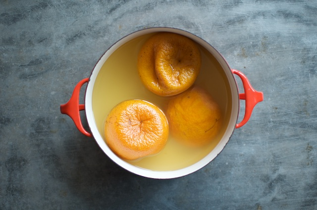 simmered Seville oranges for small batch marmalade - Food in Jars