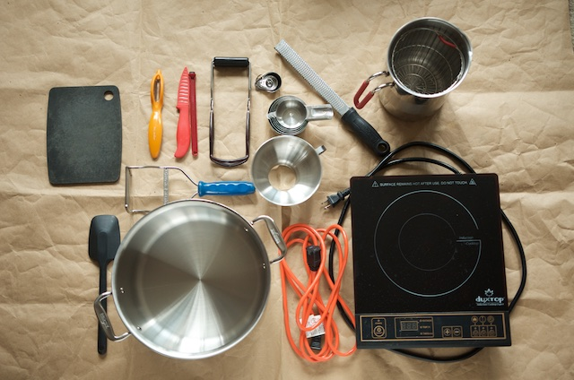 Gear for Canning Events - Food in Jars