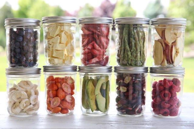 HarvestRight jars