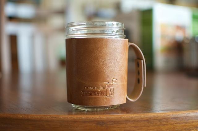 Mason Jar Lifestyle handle sleeve - Food in Jars