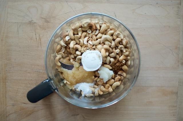 cashew butter ingredients - Food in Jars