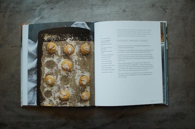 Coconut Cookbook Orange Cookies - Food in Jars