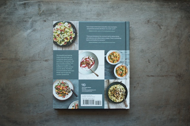 The Whole Coconut Cookbook Back - Food in Jars