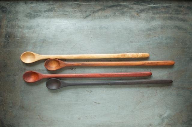 earlywood tasting spoons - Food in Jars