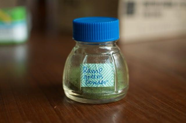 ramp powder jar - Food in Jars