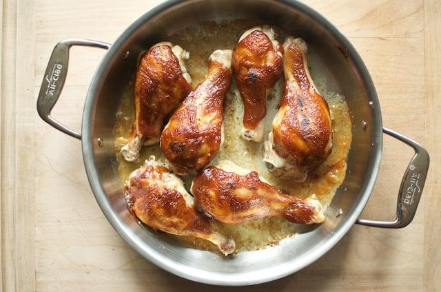 roasted chicken legs - Food in Jars