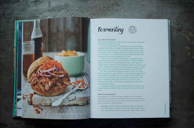 The introduction to the fermenting section of the cookbook Batch