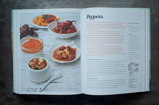 The introduction to the Peppers chapter of the cookbook Batch
