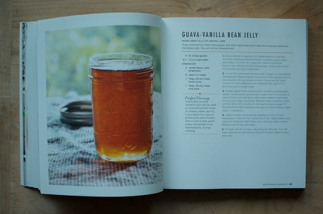 Ball Book of Canning Guava Vanilla Bean Jelly