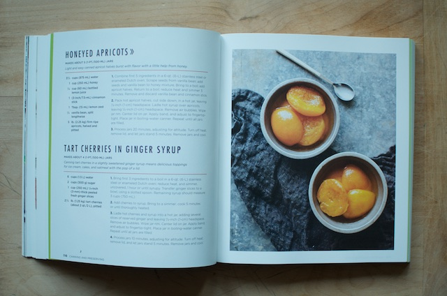 Ball Book of Canning Honeyed Apricots