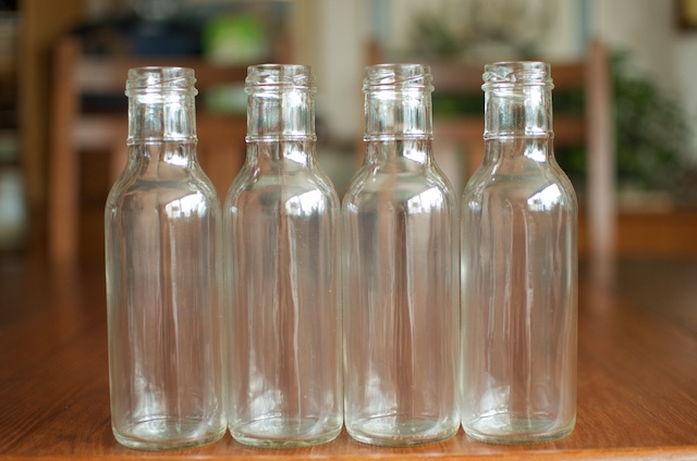 Twelve ounce bbq sauce jars