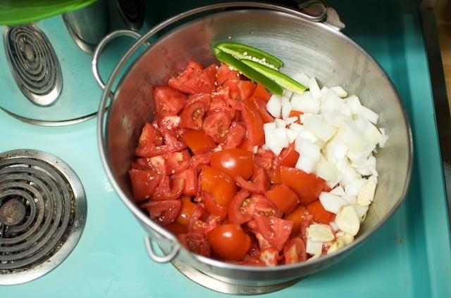 barbecue sauce starting ingredients