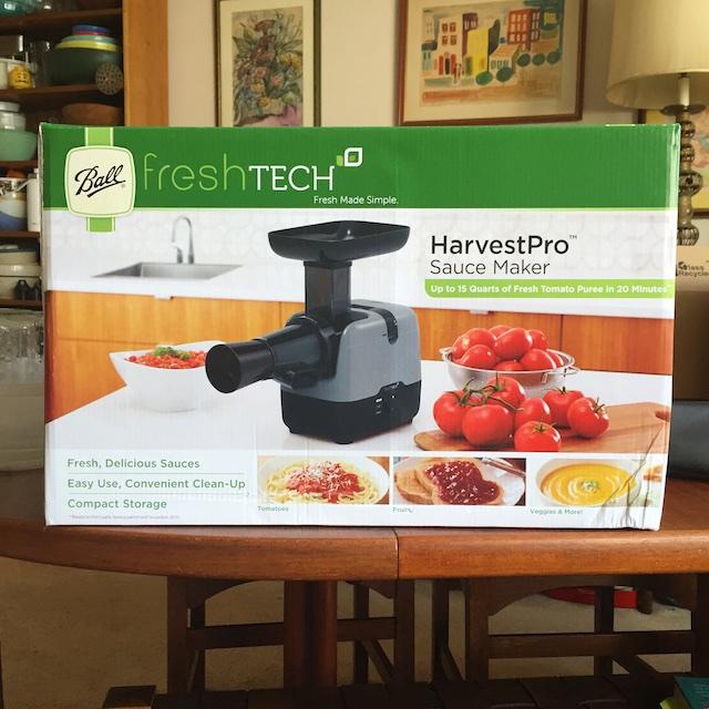 freshTECH HarvestPro Sauce Maker