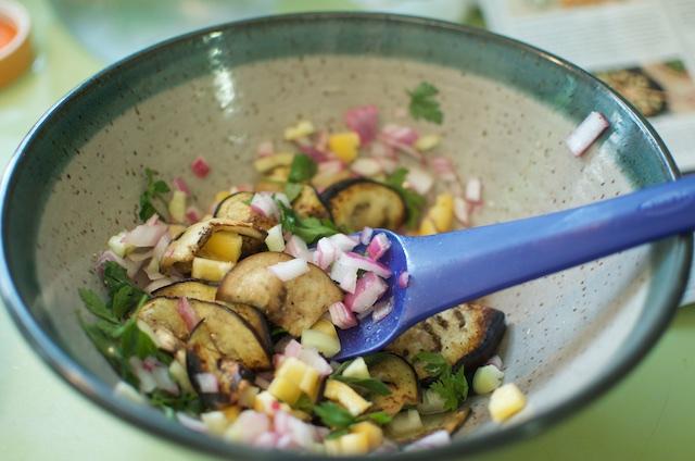 making-eggplant-salad