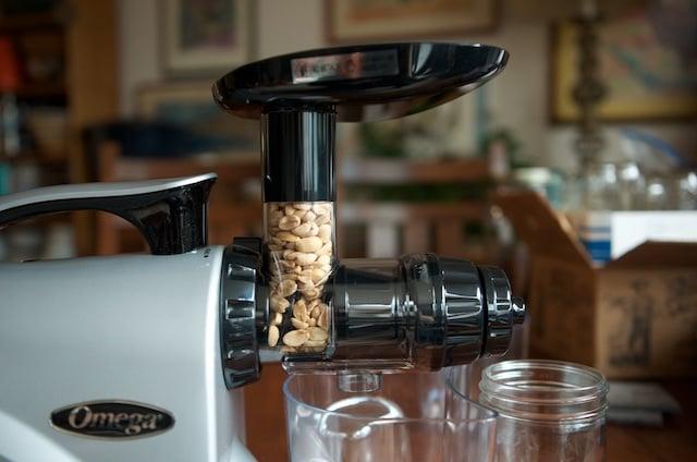 peanuts-in-the-omega-shute