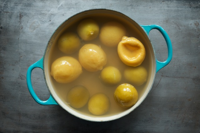 cooked citrus for lemon lime marmalade