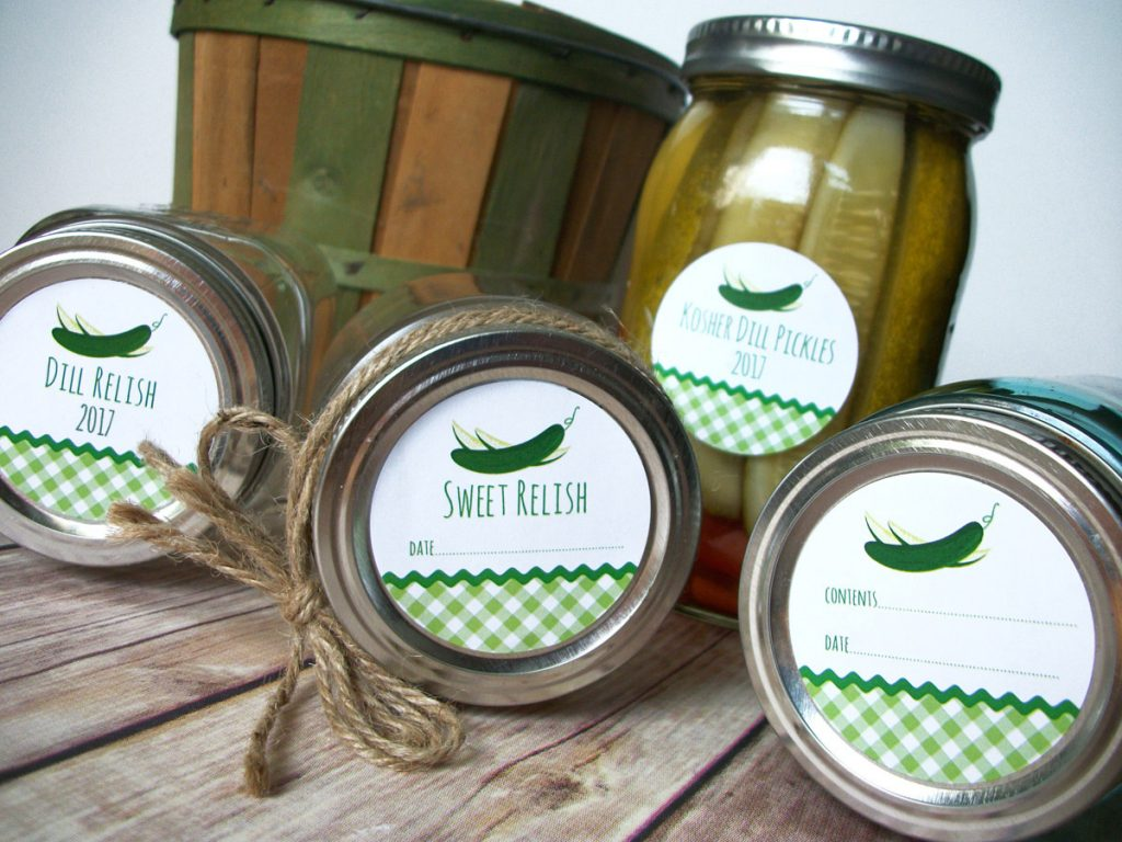 Giveaway Jar Labels From Canningcrafts Food In Jars