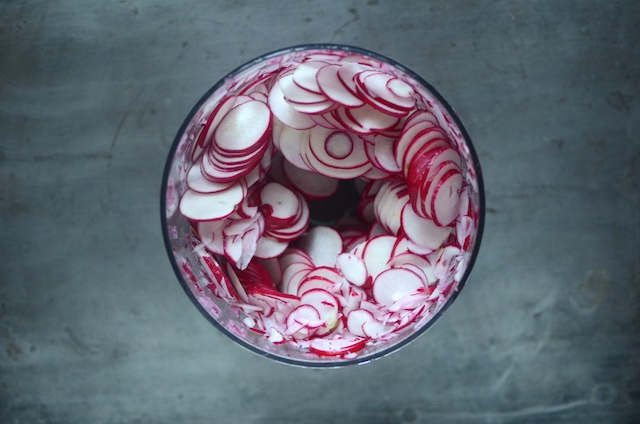 Quick Pickled Radishes for the Mastery Challenge