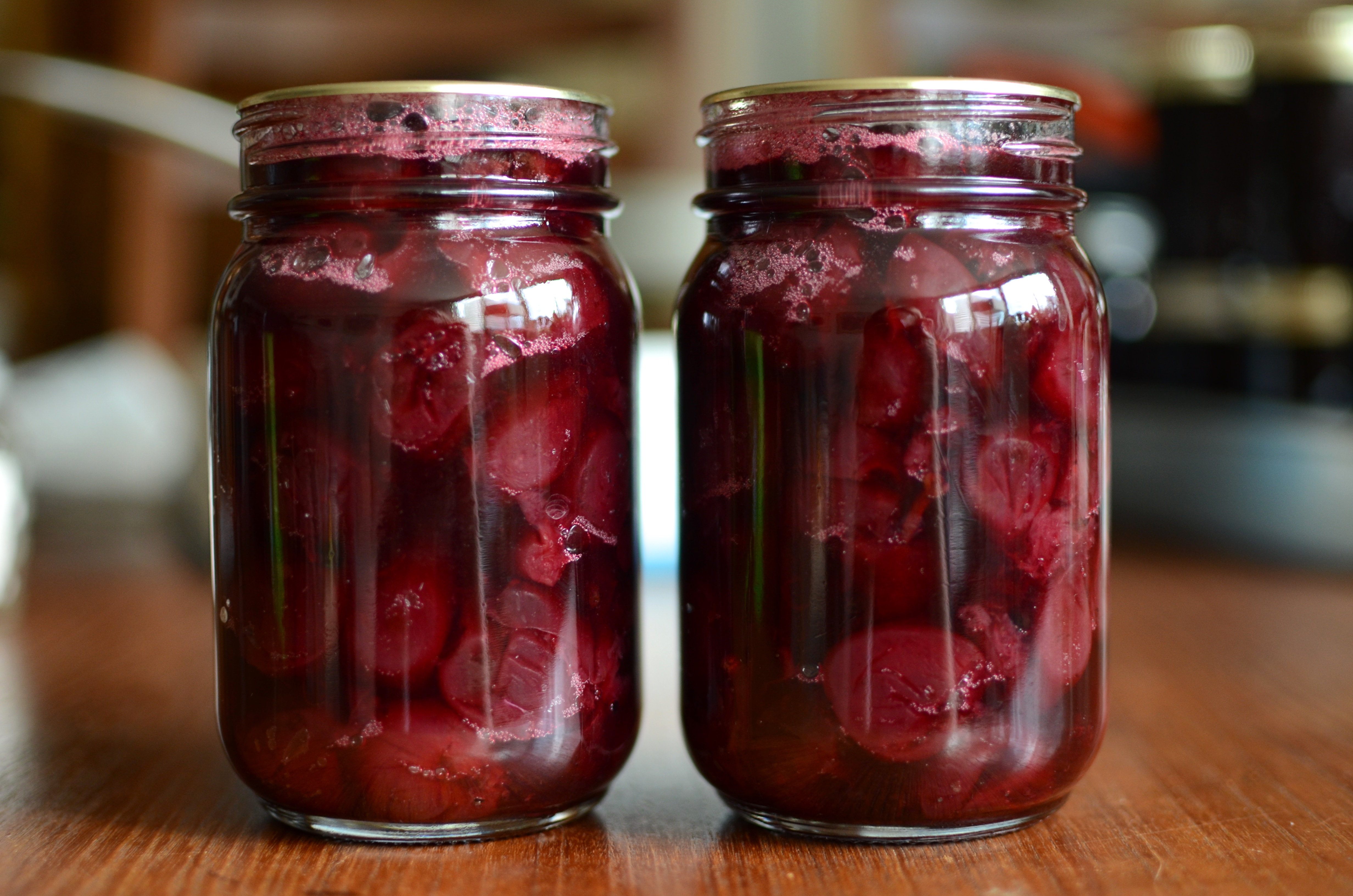 Hot Pack Spiced Cherry Preserves