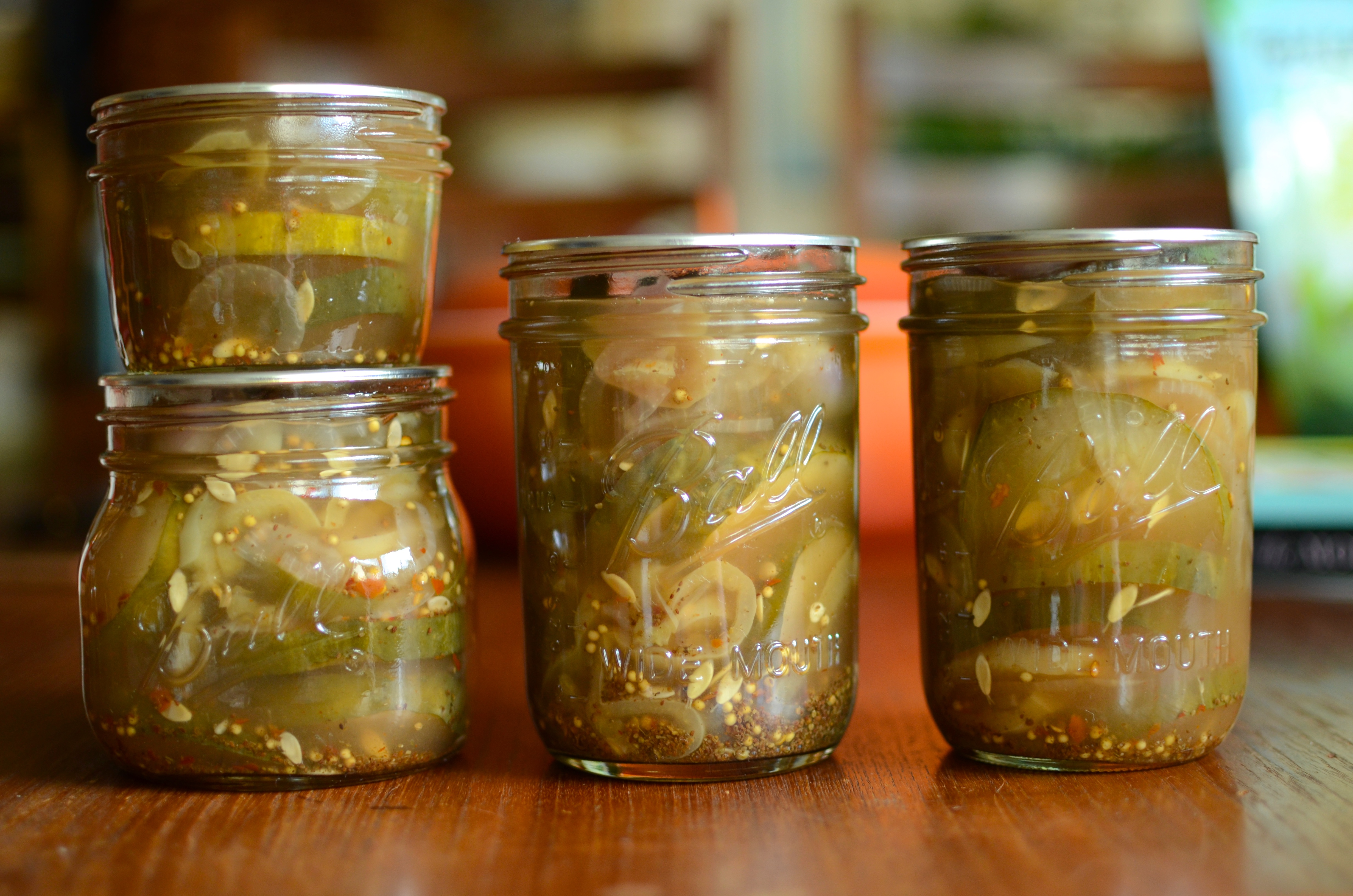 How to make homemade bread and butter pickles