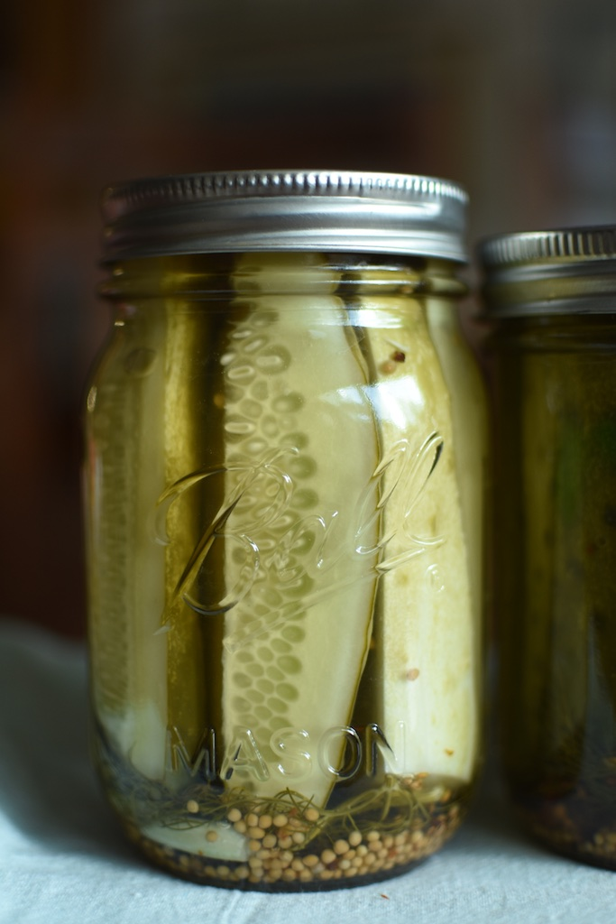 Kosher Dill Pickle Spears From Ball Fresh Preserving Products Food In Jars