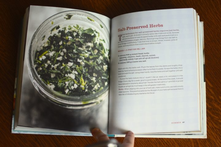 Salt Preserved Herbs From Preserving By The Pint Food In Jars