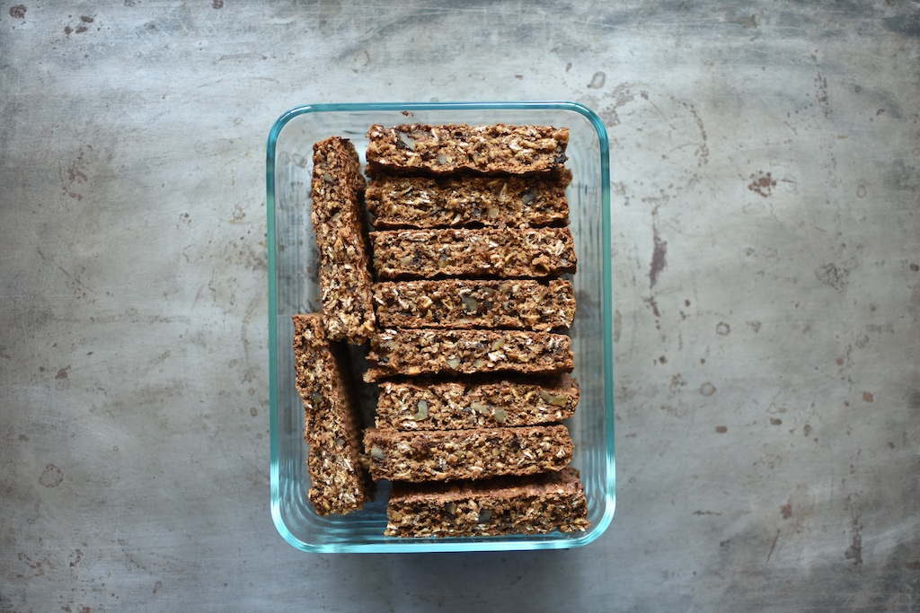 Oatmeal Applesauce Bars from The Food in Jars Kitchen