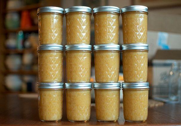 Dozen Meyer Lemon Jam - Food in Jars