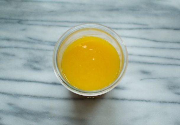 honey sweetened lemon curd